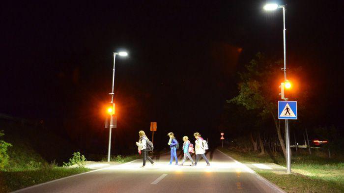 Освітлення пішохідних переходів