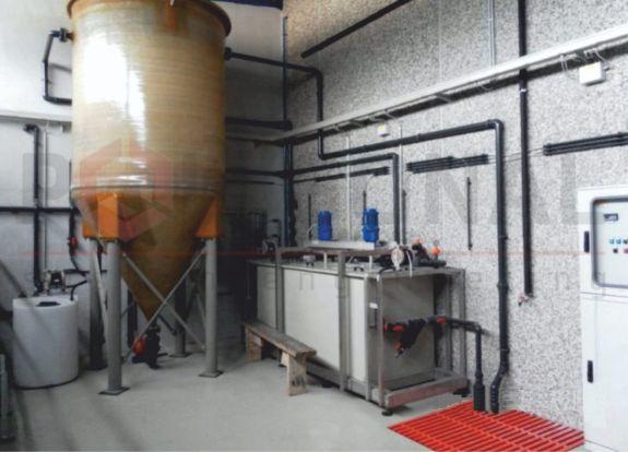 Установка регенерації флюсу