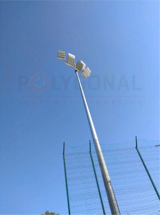 Прожекторная щогла висотою 16 метрів