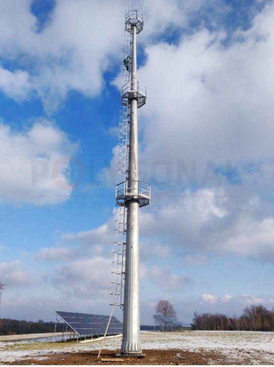 Вишка зв'язку висотою 30 метрів