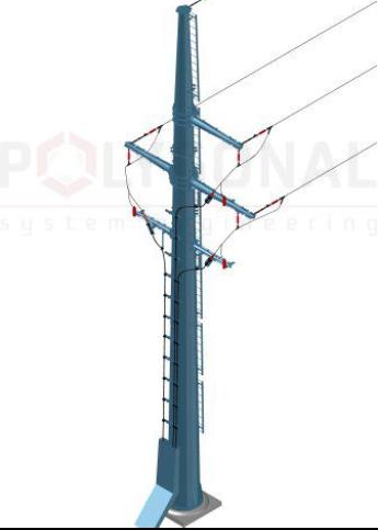 Пункт перехідний опорний кабельно-повітряний ПО-КВ
