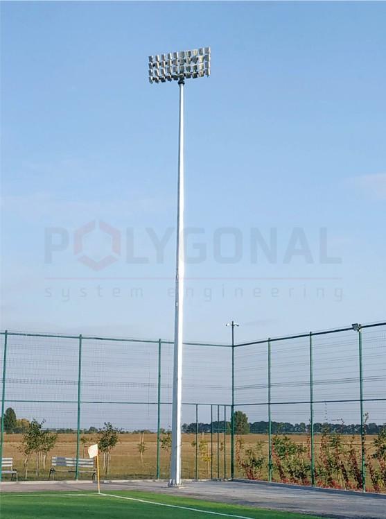 Освітлення футбольного поля - Арена Бузова