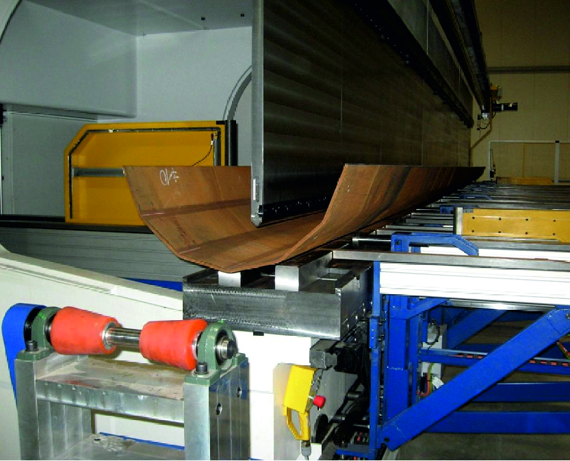 Технологічне обладнання для виготовлення багатогранних опор