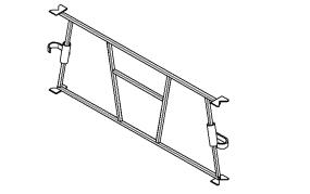 Рама соединительная предназанчена для фиксации стоек и формирования ячеек