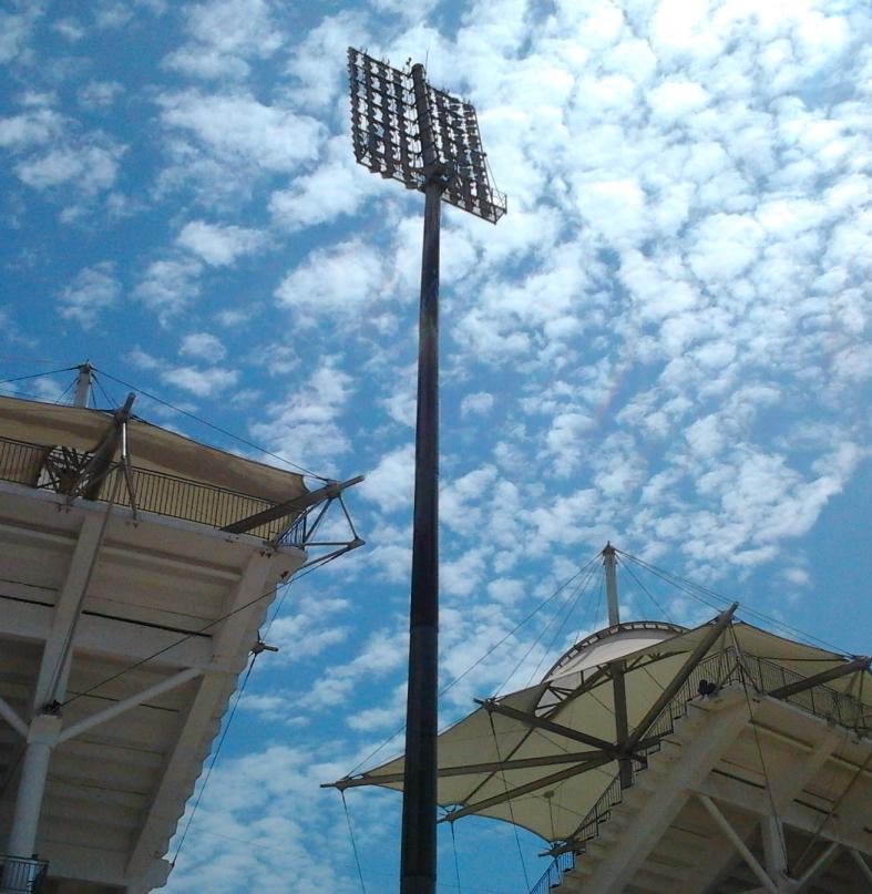 Прожекторная щогла стадіону