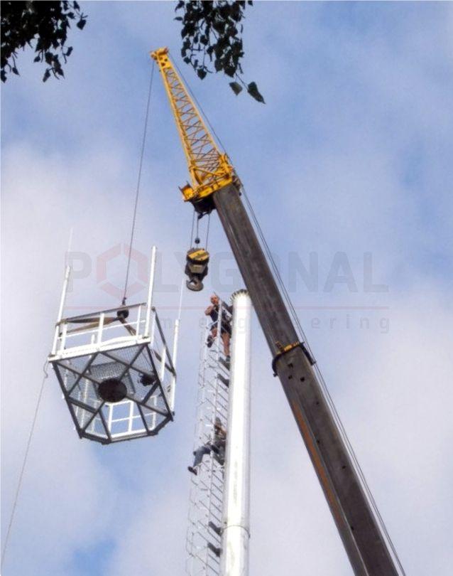 Монтаж антенної щогли