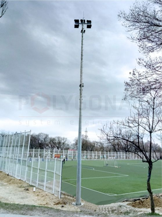 Прожекторная мачта высотой 20 м