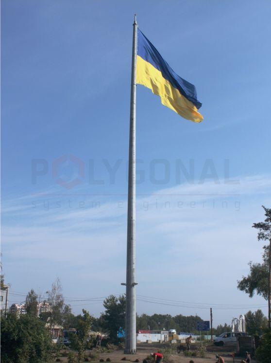 Флагшток высотой 30 метров