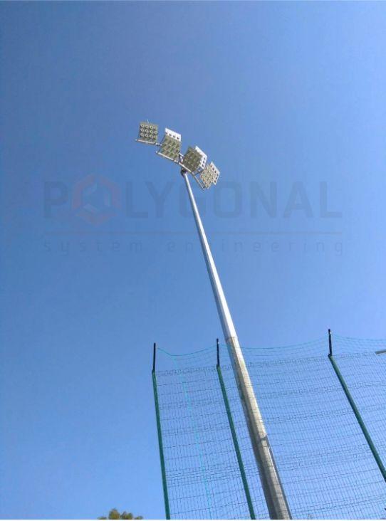 Прожекторная мачта высотой 16 м