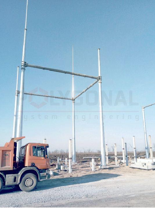 Вышка связи высотой 35 м