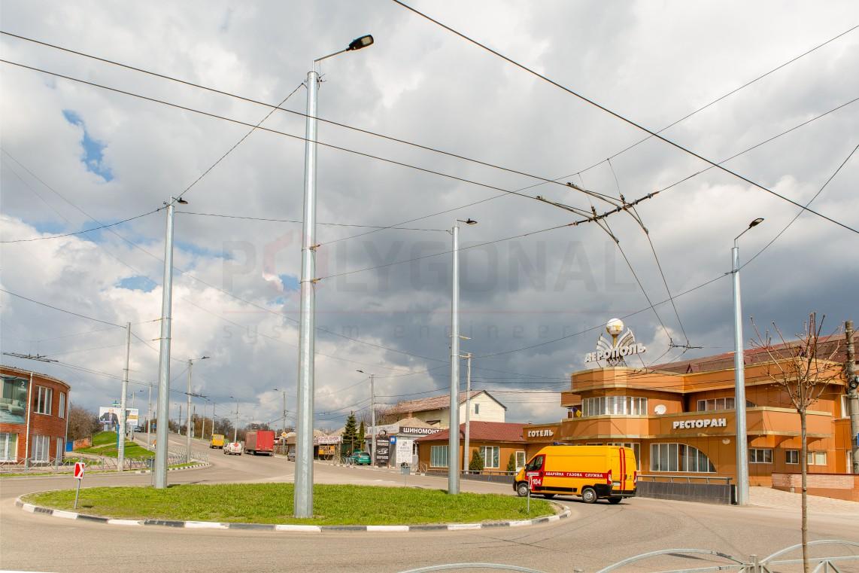 Опоры контактной сети электротранспорта