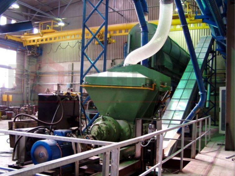 Установка переработки цинковой золы