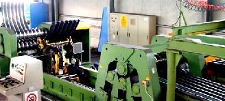 Оборудование для изготовления металлических гофрированных конструкций