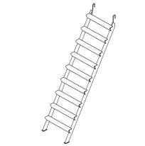 Лестница для перемещения рабочих