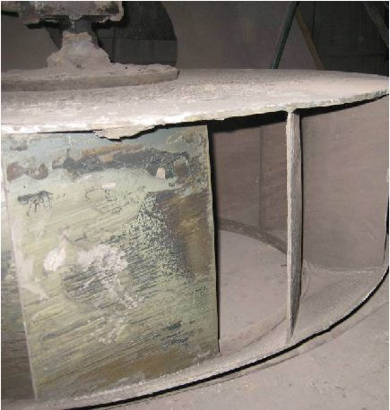 Налипание пылевидных материалов